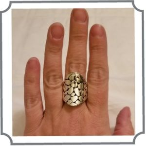 Jewelry - {Ring} Silver Tone Ring